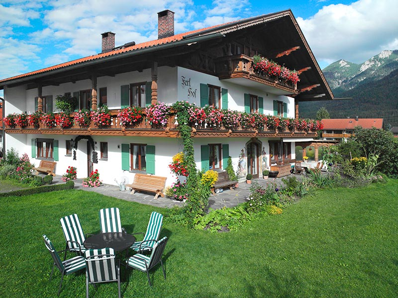 Ferien auf dem Bauernhof Ferlhof Krün