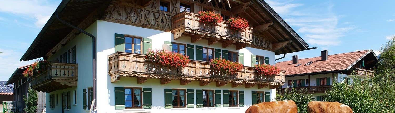 Ferlhof in Krün 3 bis 5 Sterne Ferienwohnungen