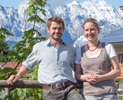 Ferlhof Krün - Die Gastgeber Familie Alois Josef & Susanne Kramer