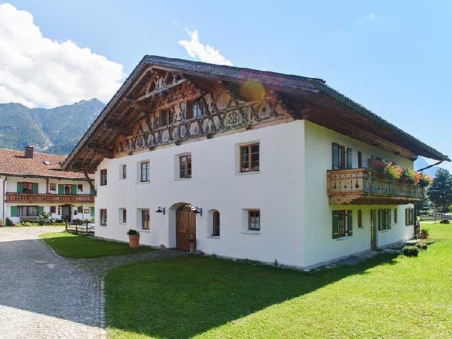 Ferienwohnungen - Appartement in Krün