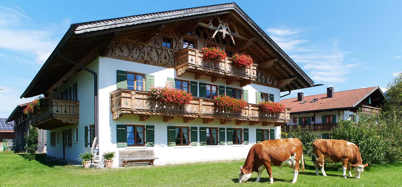 Ferienwohnungen Ferlhof in Krün