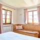Ferienwohnung Krün Karwendel Schlafzimmer