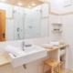 Ferienwohnung Krün Soiern Badezimmer