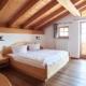Ferienwohnung Krün Zugspitz Elternschlafzimmer